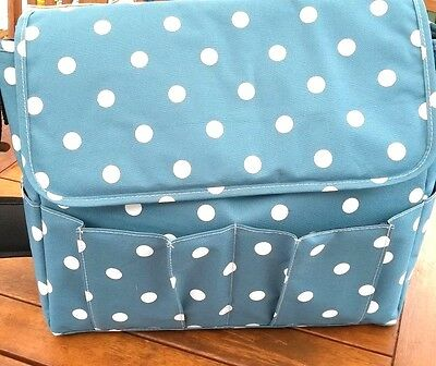 Pre-packed Premium Polka Dot Maternity Bag for Mum/Baby Boy