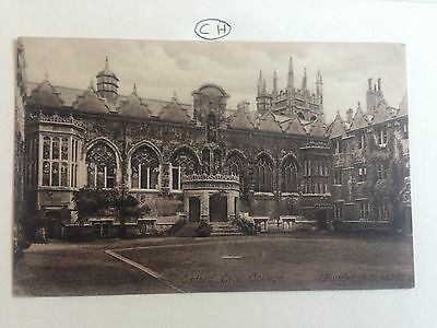 Oxford Oriel College Founded 1326 Postcard