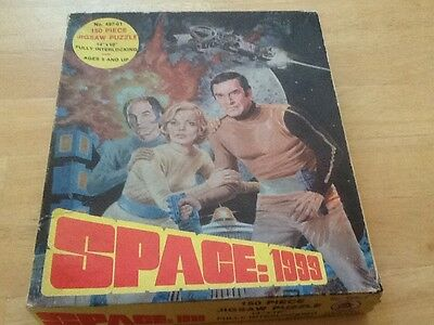 """1970's HG Toys""""Space: 1999"""", 150 Piece Jigsaw Puzzle. Complete"""