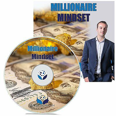 Millionaire Mindset Hypnosis CD - Program Your Mind to Think More Like Wealthy P