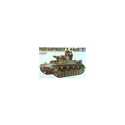 German Pzkpw Iv Ausf. D Assembly Kit Scale - 1/35Th TAM35096 New!