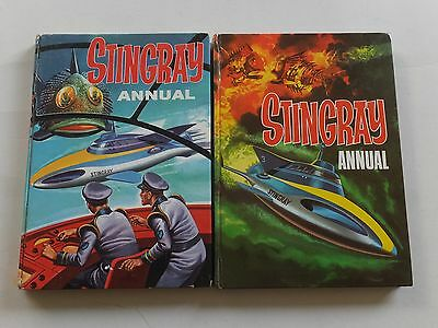 Two Stingray annuals 1965 & 1966.