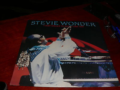 Stevie Wonder  –  I Just Called To Say I Love You 12 inch Record