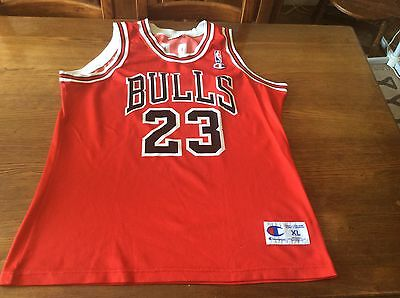 Michael Jordan Chicago Bulls 23 Jersey maillot basket-ball champion Xl tbe good