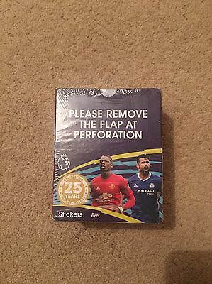 Topps Merlin 2016/2017 Premier League Official Stickers - 1 Box/50 Packs
