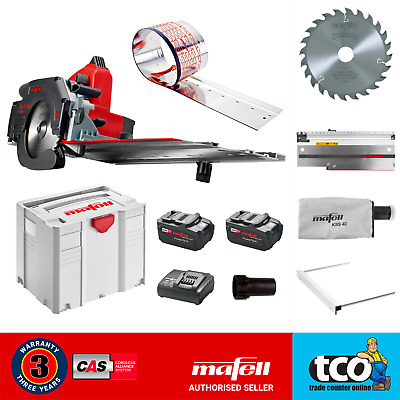 Mafell Cordless Circular Saw System | KSS 40 18 M BL | Systainer T-Max | 919821