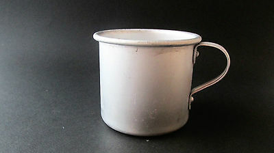 WWII WW2 Vintage Military  Bulgarian Aluminum Drinking cup