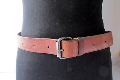 WWII WW2 Vintage Military of soldier German Leather Belt