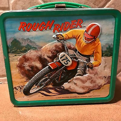 Vintage Rough Rider Lunchbox and Thermos