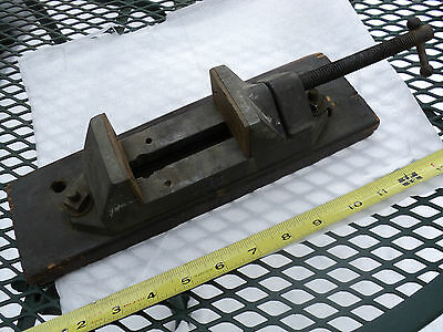 """Machinist Small Vintage Drilling / Milling Vise 2-5/16"""" Jaws, opens to 3"""""""