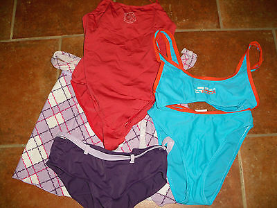 Lot 3 Maillot Bain Enfant Fille Taille 164/170 14Ans Taille 36 Taill 168