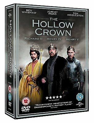 The Hollow Crown - Series 1 - Complete (DVD, 2012, 4-Disc Set)