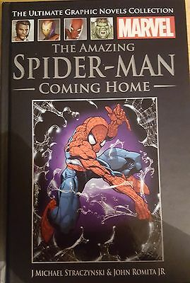 Marvel Ultimate Graphic Novel Spider Man Coming Home