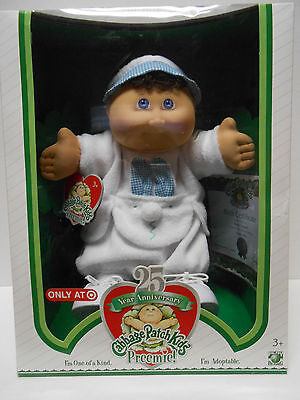 Cabbage Patch 25th Anniversary Preemie  Boy Sean Donnell Bunny Rabbit Outfit