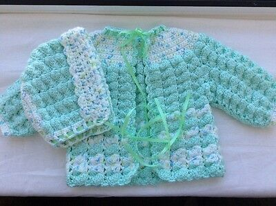 baby sweater sets size 0-3 months