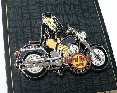 HRC Hard Rock Cafe COLOGNE Motorcycle Biker Fans series pin #1