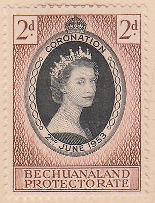 (K11-19) 1953 Bechuanaland protectorate 2d coronation (A) MH