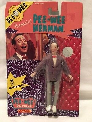 Pee-Wee's Playhouse Action Figure Sealed in Original Case Matchbox 1988