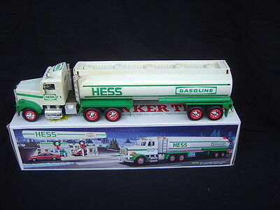 A USED 1990 Hess Gasoline Truck with Box