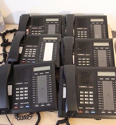 Comdial Impact 8024s-GT - 6 Phones - Used - As Is