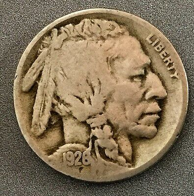 1928 Buffalo Nickel five cent US Coin FREE Shipping