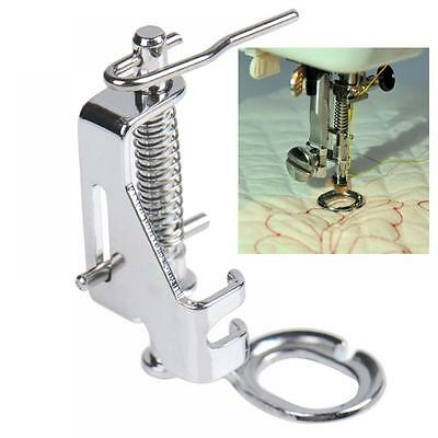 Feet Domestic Snap On Sewing Machine Darning Foot Quilting Embroidery