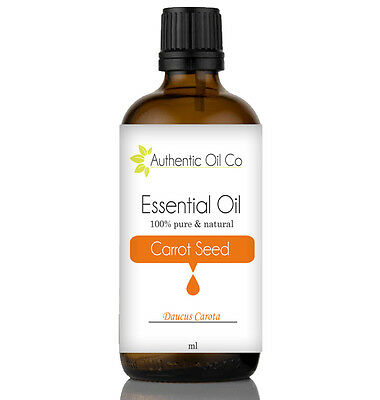Carrot seed Essential Oil 100ml  100% Pure