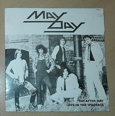 """May Day - Day After Day NWOBHM 7"""" single hard rock heavy metal"""