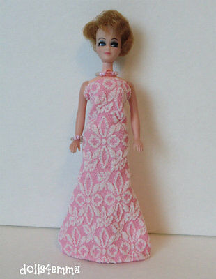 DAWN CLOTHES Handmade Summer GOWN & JEWELRY for vintage or repro Fashion NO DOLL