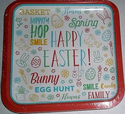 """EASTER Paper Plates  8 ct   9 1/8"""" Plates  EASTER FUN"""