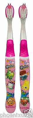 shopkins twin pack toothbrushes-in stock