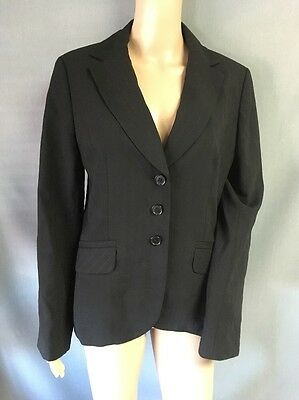 Ann Taylor Womens Suit Blazer Career Jacket Size 6 Wool Lined EUC