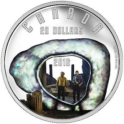 2016 1oz. Pure Silver Coloured Coin – Star Trek: The City On The Edge Of Forever