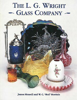 LG Wright Art Glass - Identification Dates Colors 1,892 Examples / In-Depth Book