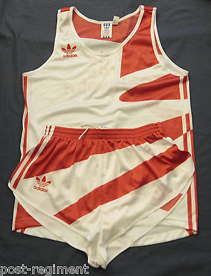 ADIDAS SHORTS Sprinter Racer Retro Vintage Sporthose Gay Shirt Lauf Set Top M D6