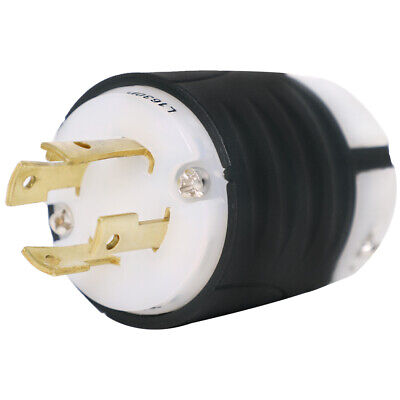 L16-30 Plug - NEMA L16-30P Locking Plug, Rated for 30A, 480V