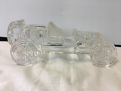 Glass crystal car PAPERWEIGHT ORNAMENT