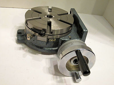 "Yuasa Rotary Table 6"" Horizontal Vertical Model 550-046 Mint Condition"