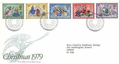 Christmas 1979 First Day Cover