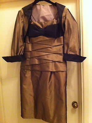 Ian Stuart mother of the bride outfit sz usa 12