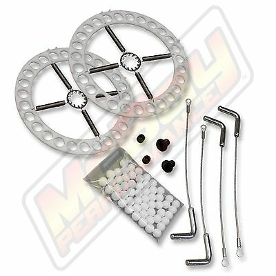 Alignment Turn Plate Table Repair Kit w/Lock Pins Mild Steel Plates Hunter FMC