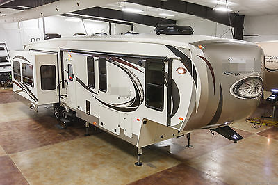 New 2017 377MBC Mid Bunkhouse Luxury 4 Slide Out 5th Fifth Wheel, Sleeps 9
