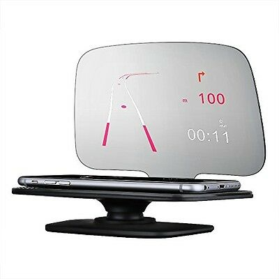 Mpow Universal Head Up Display,Car GPS HUD With Overspeed Warning, Vehicle For