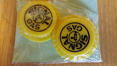 Vintage Signal Gas reusable bottle caps New in Package