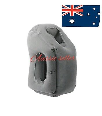 INFLATABLE TRAVEL PILLOW,CAMPING,RELAXING SUPPORT PILLOW... 2 week wait on item