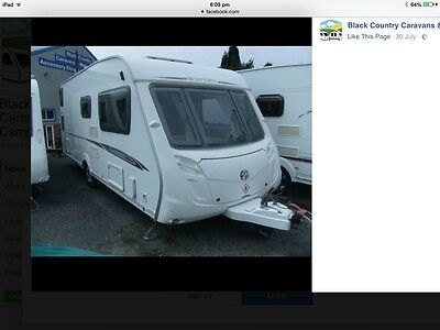 2007 Swift Charisma 570 Caravan motor mover awning