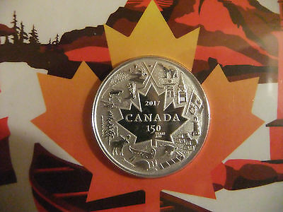 2017 Canada $3 Heart of Our Nation  0.999 Silver Coin