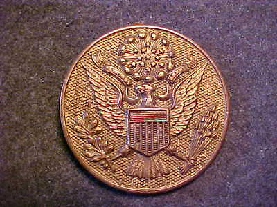 Very Rare Unusual Ww1 Big Us Army Enlisted Hat Badge Marked The Art Metal Works