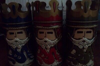 Fitz and Floyd Christmas Three Kings Votive Holded