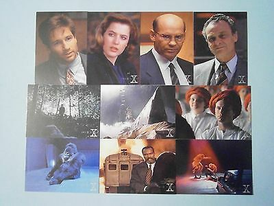 Part Set ; Australian X-Files Trading Cards ( 81 of 90 ). Intrepid, 1996